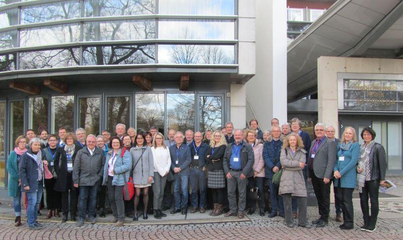 Teilnehmer des 22. Klinikvertretertreffens der Deutschen Tinnitus-Liga